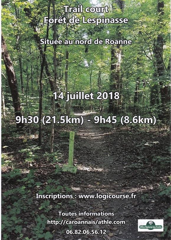 """Résultat de recherche d'images pour """"Trail court de la Forêt de Lespinasse"""""""